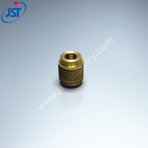 OEM Precision CNC Turning Brass Parts for Power Cable Connector